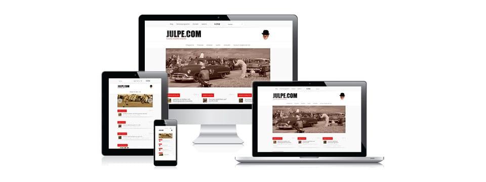 Mobiles Responsive Premium Design für Blogs