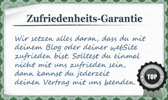 webSite erstellen mit Zufriedenheits Garantie