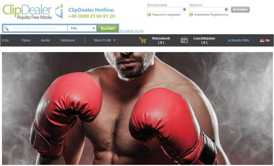 ClipDealer versteht sich als offener Marktplatz für Lizenzfreie Bilder und andere Medien
