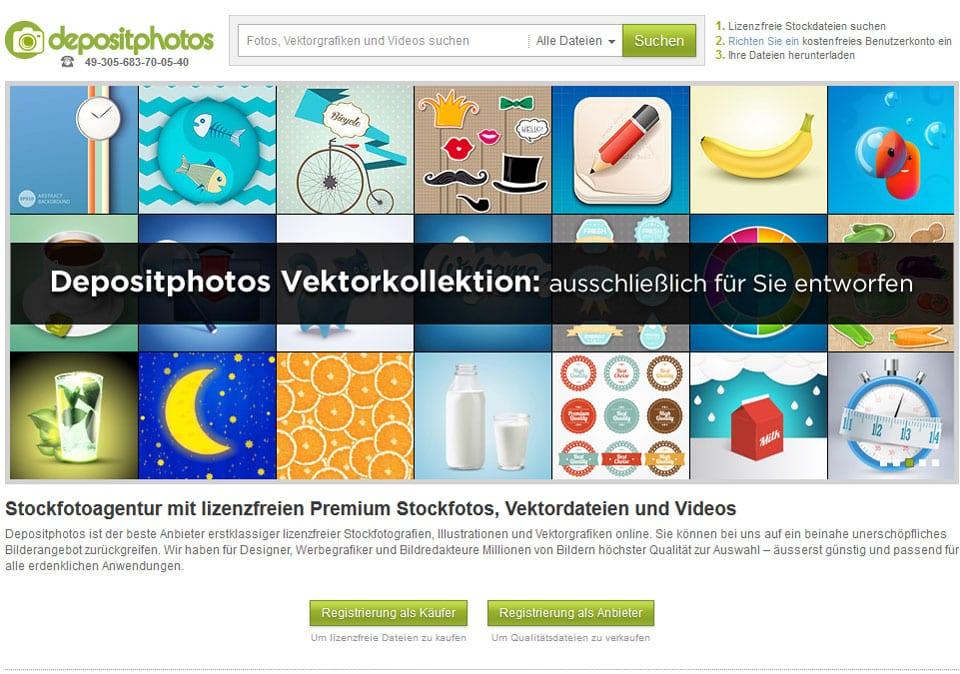 Bei Depositphotos Fotos, Vektorgrafiken, Videos sowie Lizenzfreie Bilder finden
