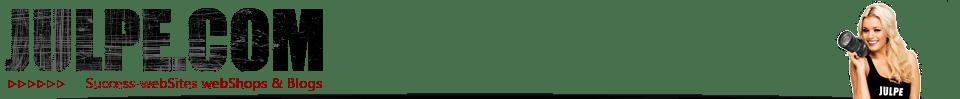 JULPE .COM - Success-webSites webShops & Blogs