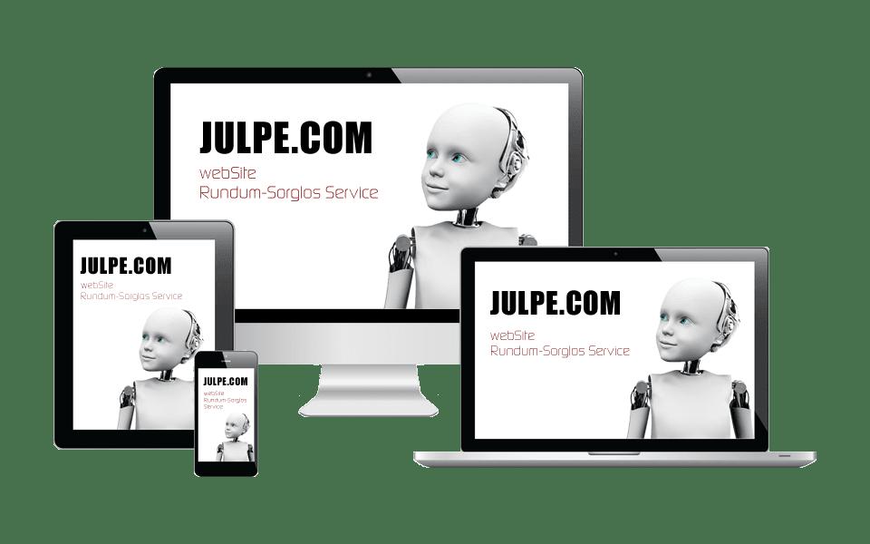 webSite mit Rundum-Sorglos Service